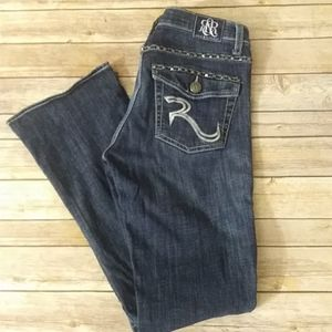 NWOT Rock & Republic Jeans With Studs Size 8